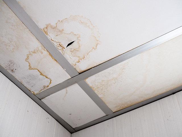 屋根・外壁水漏れ調査